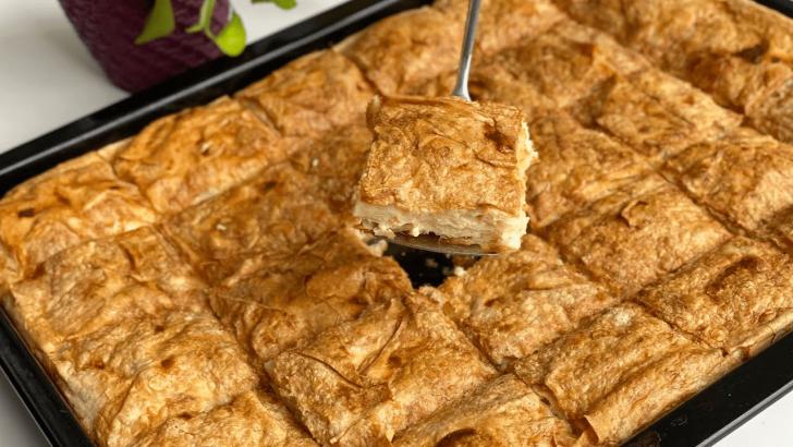 10 Dakikada Yumuşacık Peynirli Sodalı Börek Tarifi